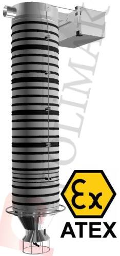 Atex certified explosion protection ex-proof loading bellows