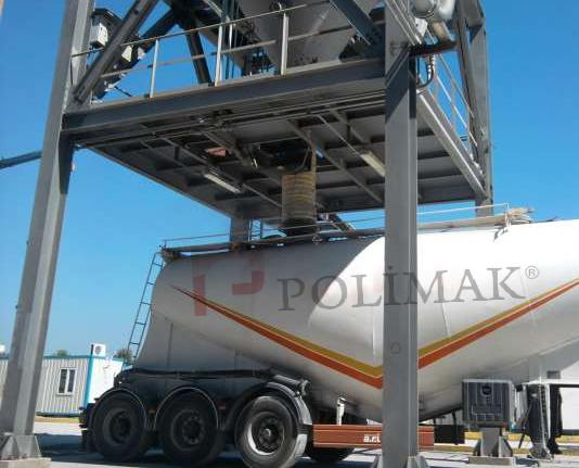 Tanker loading bellow telescopic bulk truck loading chute