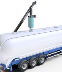 Malzeme taşıma sistemleri silobas yükleme şutları kamyon dolum teleskopik boruları besleyici