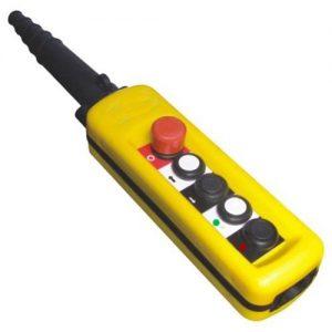 Handheld remote controlling of bulk loading bellows