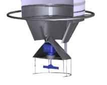 Silobas dolum körüğü seviye şalteri kamyon doldurma körükleri seviye sensörü