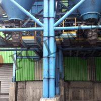 Dökme Hammadde siloları silobas doldurma körükleri