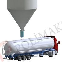 Telescopic Tanker loading bellow telescopic chutes loading spouts