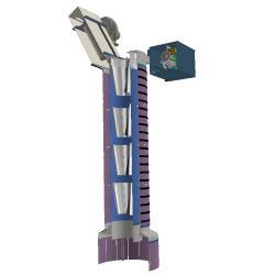 Telescopic Loading Chute accessories dust collector filter spreader bottom closure cone positioner