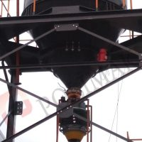 Teleskopik silobas doldurma şutu ve borusu