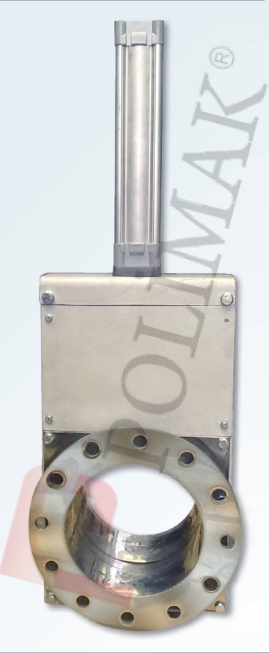Absperrklappe Verladegarnitur Silo Zwischenbehälter Teleskoprohr Ventil