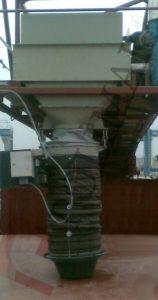 Verladegarnitur für Schiff entladen