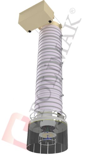 Doppelfunktions-Verladegarnitur für Silos und LKWs